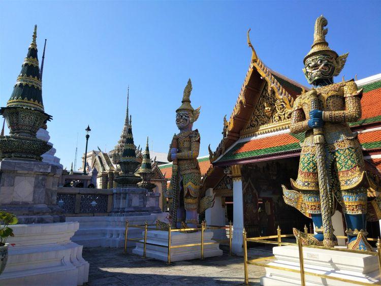 Figuras Gran Palacio Bangkok