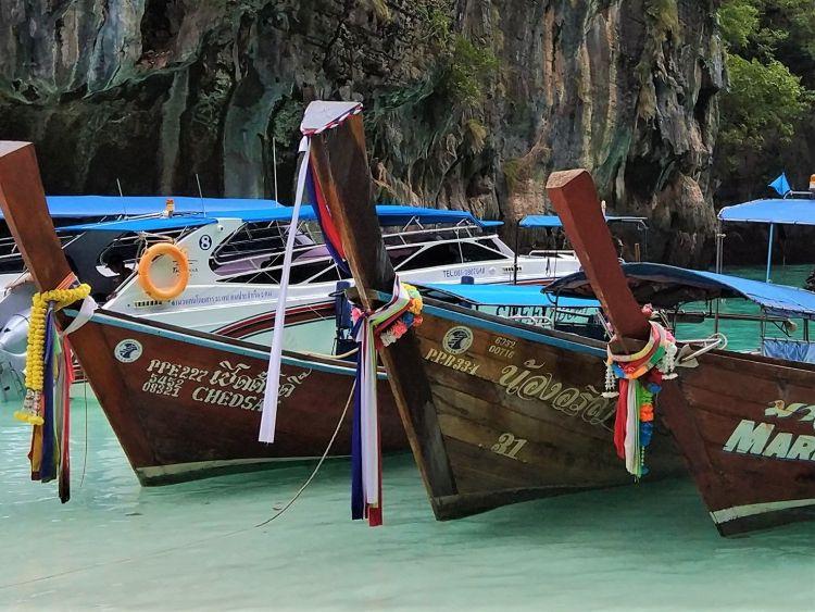 Guirnaldas barcos Tailandia