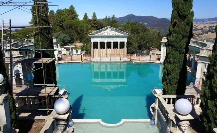 Neptune pool en obras
