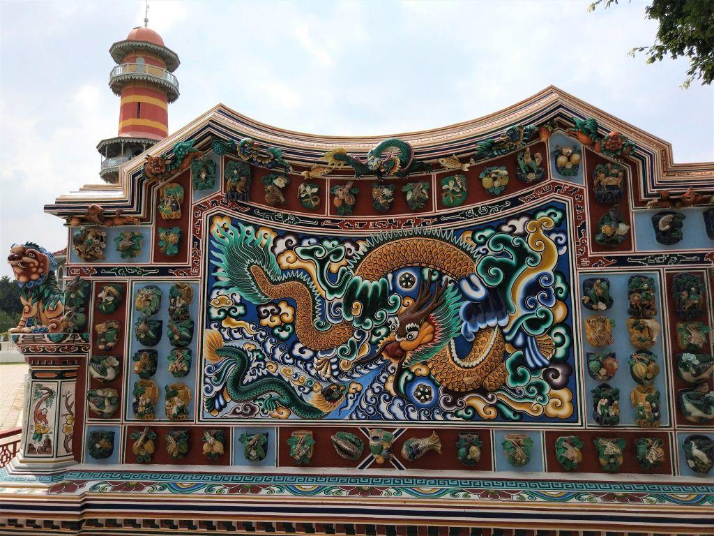 Torre desde el pabellón chino