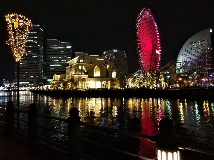 Vistas desde el Kishamichi Promenade