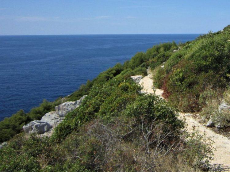 camino a Odysseus cavecamino a Odysseus cave