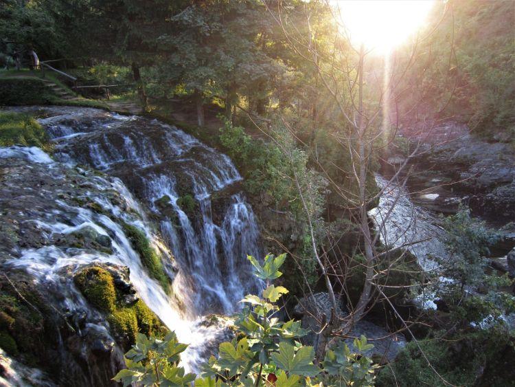 cascada en Rastoke
