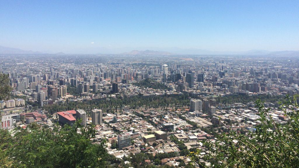 Vista desde Cerro San Cristóbal