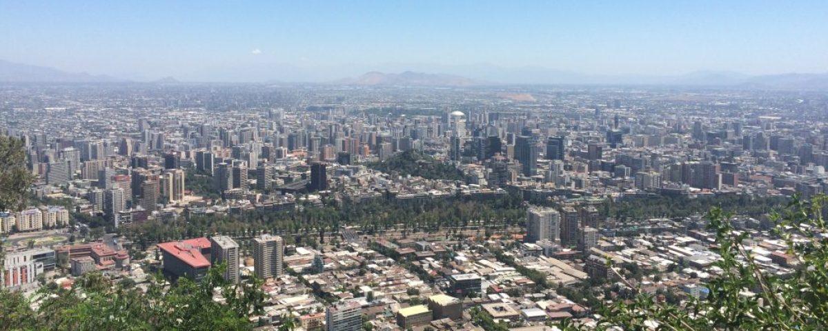 Vista desde Cerro San Cristobal