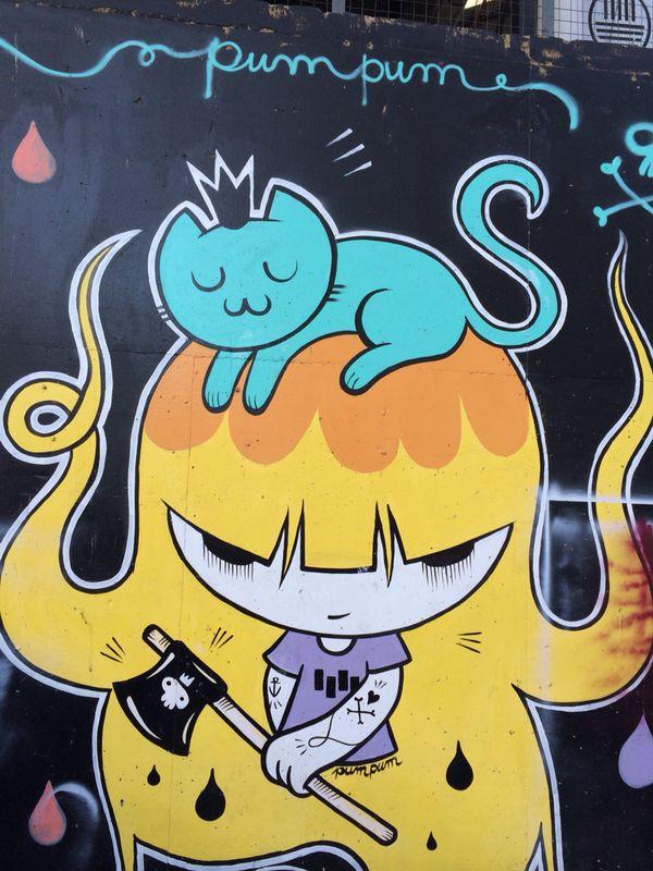 Graffiti de Pum Pum - Tour de graffitis en Buenos Aires