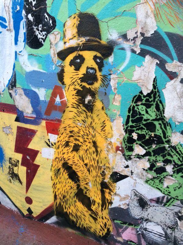 Tour de graffitis en Buenos Aires