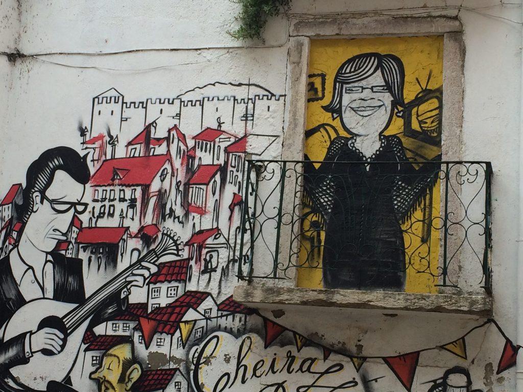 Graffitis - Viajar a Lisboa