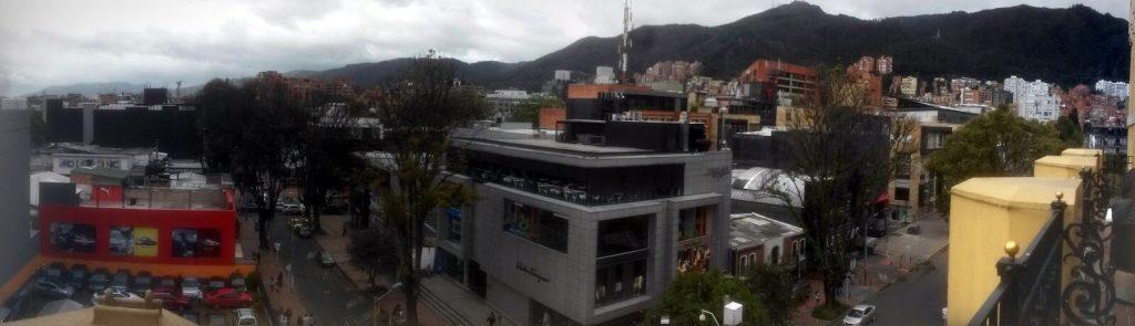 Viajar a Bogotá - panorámica