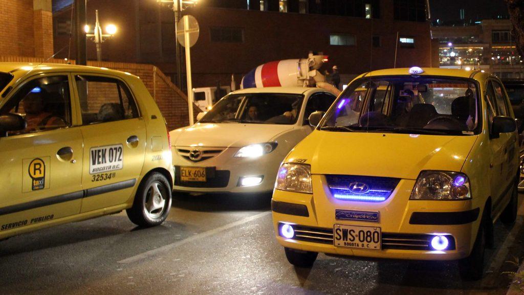 Viajar a Bogotá - Taxis