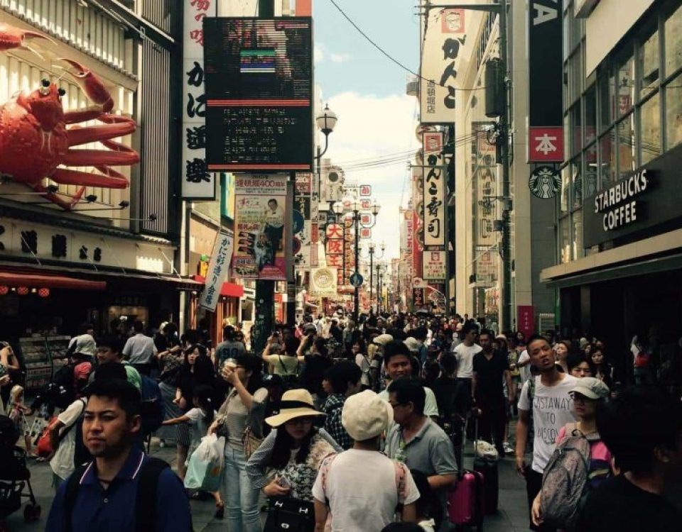 Dotonbori donde alojarse en Osaka