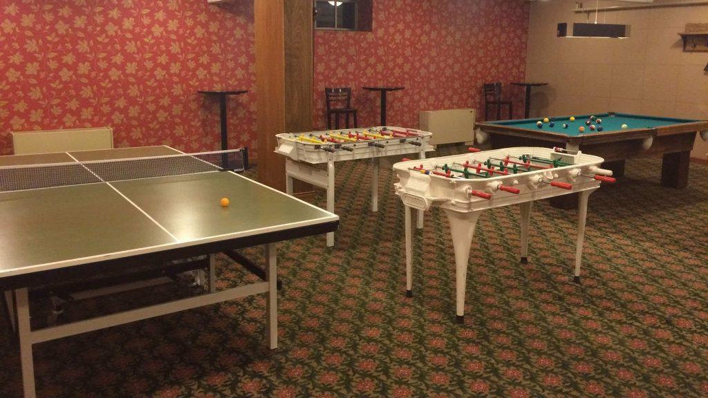 Hotel Llao Llao sala de juegos