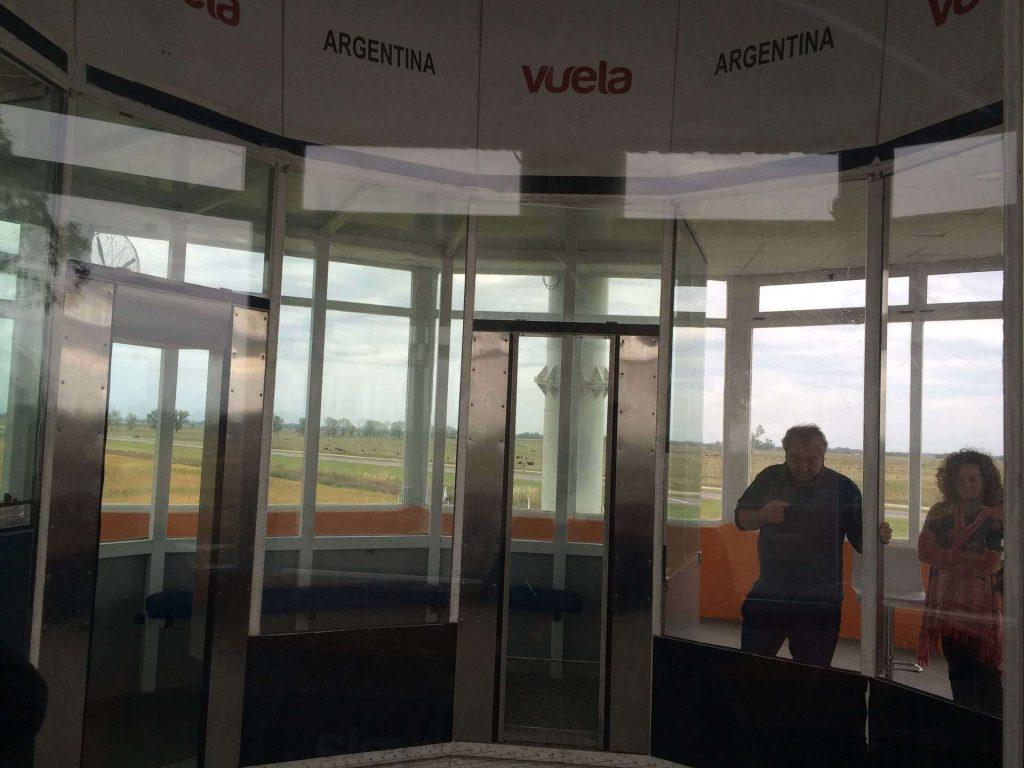 VUELA tunel de viento pruebas