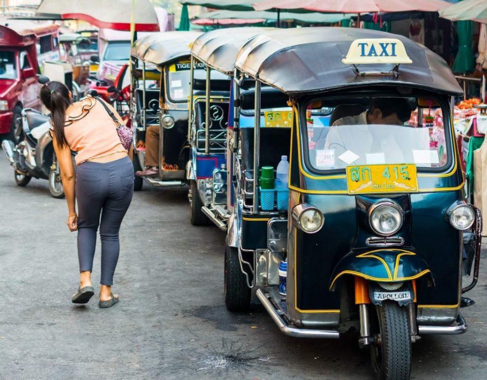 Como ir del aeropuerto de Chiang Mai al centro de la ciudad