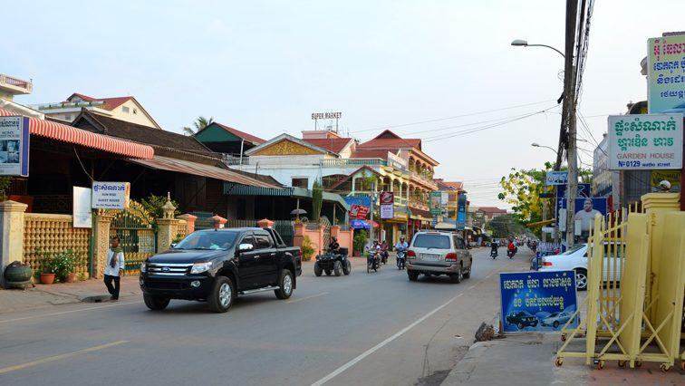 Donde alojarse en Siem Reap Zonas