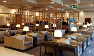 Sala VIP SilverKris Lounge Singapore em Heathrow