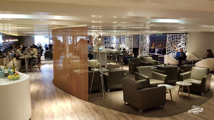 Sala VIP Star Alliance do aeroporto Charles de Gaulle