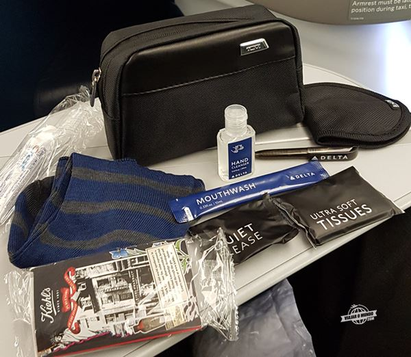 Amenity Kit - Classe Executiva Delta One do A330