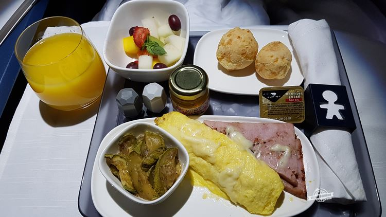 Omelete - Classe Executiva Delta One do A330
