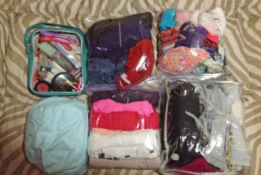 bolsas para viajar ziploc orden ahorra espacio