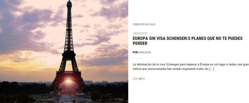 EuropaSinVisaSchengen