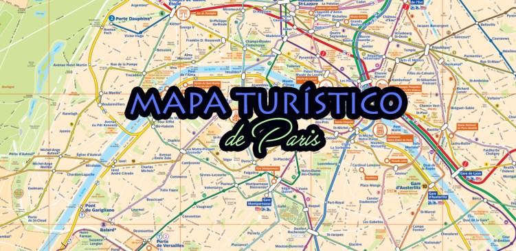 mapa de paris para imprimir Mapa turístico de Paris para imprimir   Viajar Paris mapa de paris para imprimir