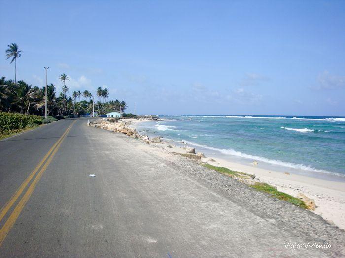 dar vuelta a la isla San Andres