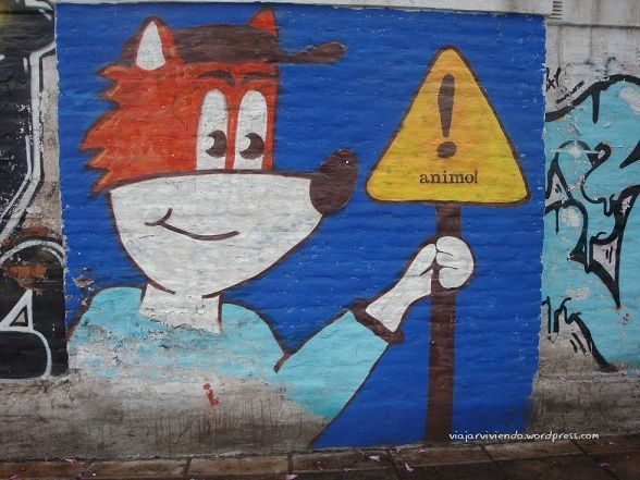 arte callejero en Córdoba Argentina