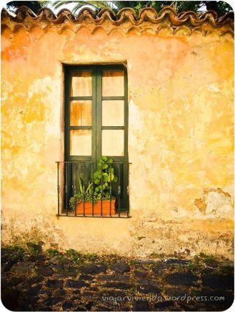 ventanas en Colonia del Sacramento Uruguay
