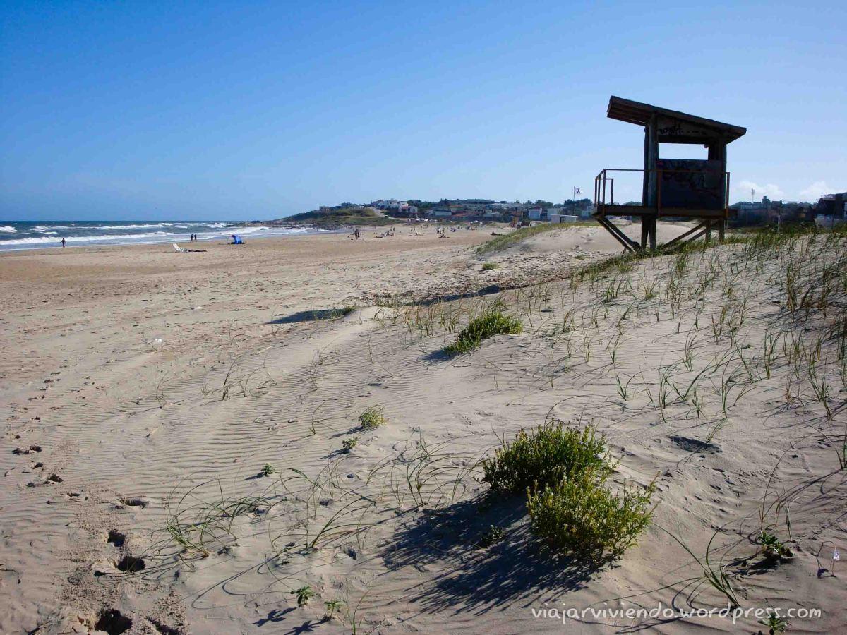 playa en La Pedrera Uruguay