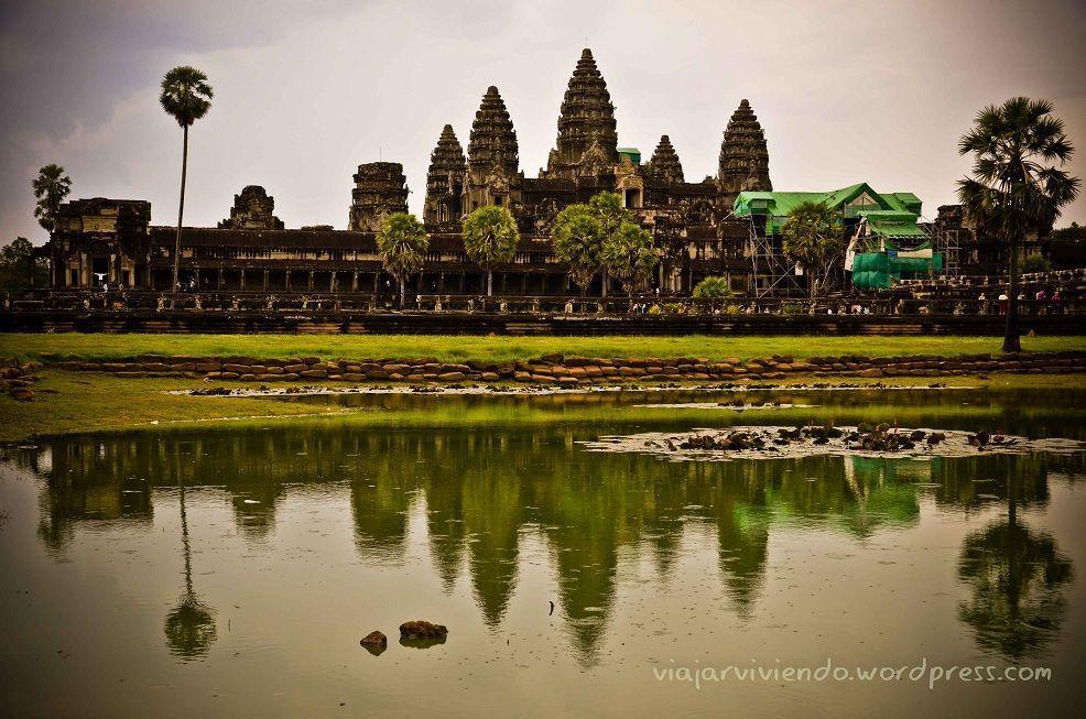 Los templos de Angkor, en Camboya