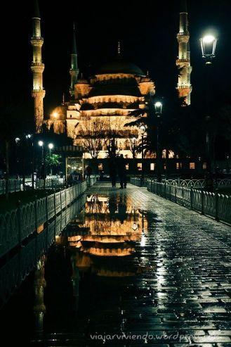 Reflejos: Mezquita Azul
