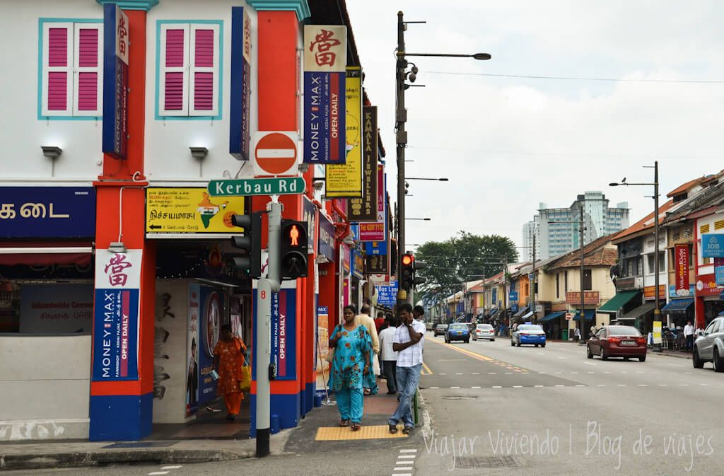 alojarse en Singapur little india