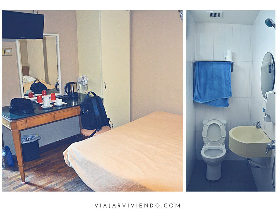 alojarse en Singapur barato - opinion hotel arianna