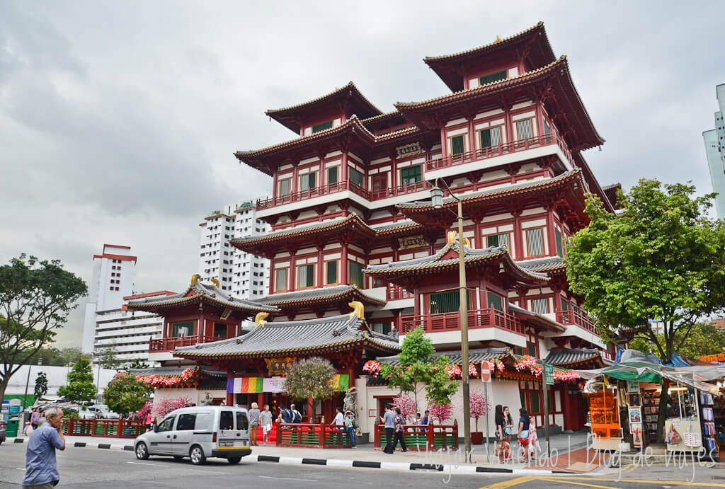 Templo del diente de Buda - que hacer en Singapur