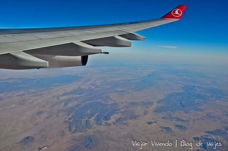 volando a Kuala Lumpur turkish