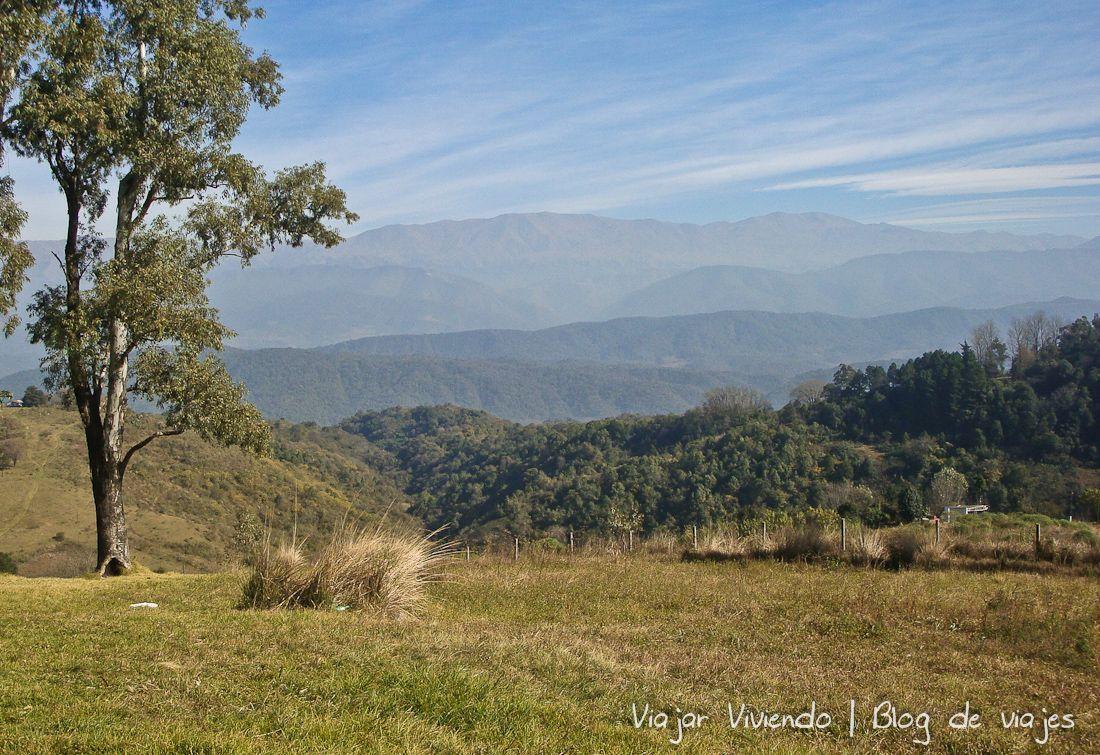 Parque Sierra San javier - dónde dormir barato camino al noroeste argentino
