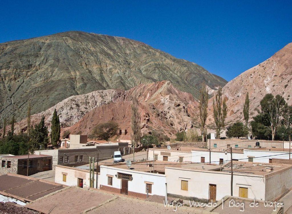 Vista de purmamarca, Jujuy
