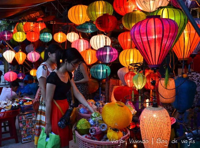 faroles luces vietnam
