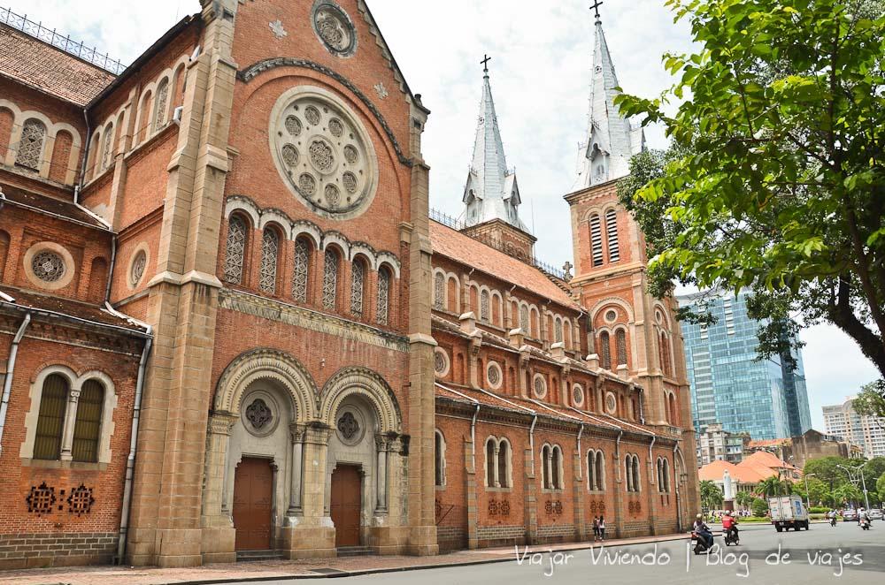Catedral Notre Dame Ho Chi Minh Vietnam