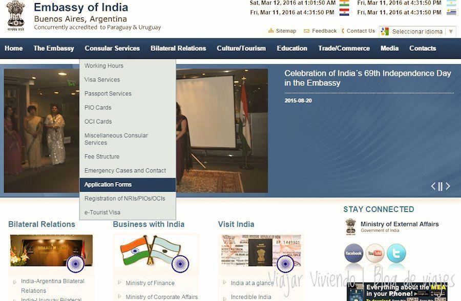 Embajada india en buenos aires visa