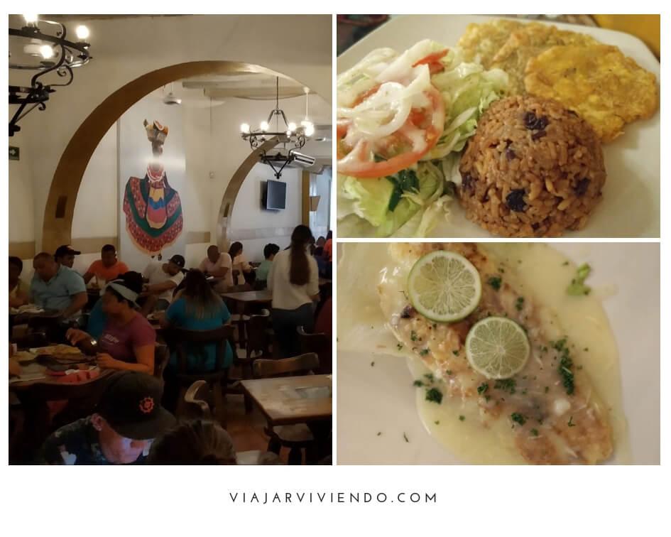 restaurante espiritu santo en la ciudad amurallada