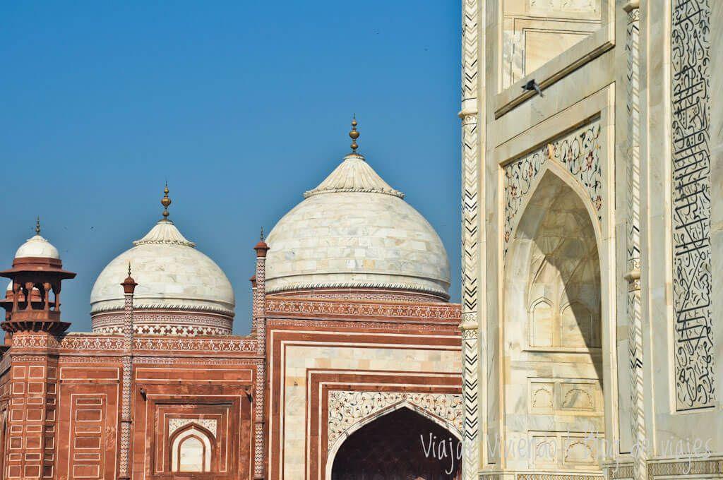 viajar al Triangulo de Oro - Taj Mahal, Agra