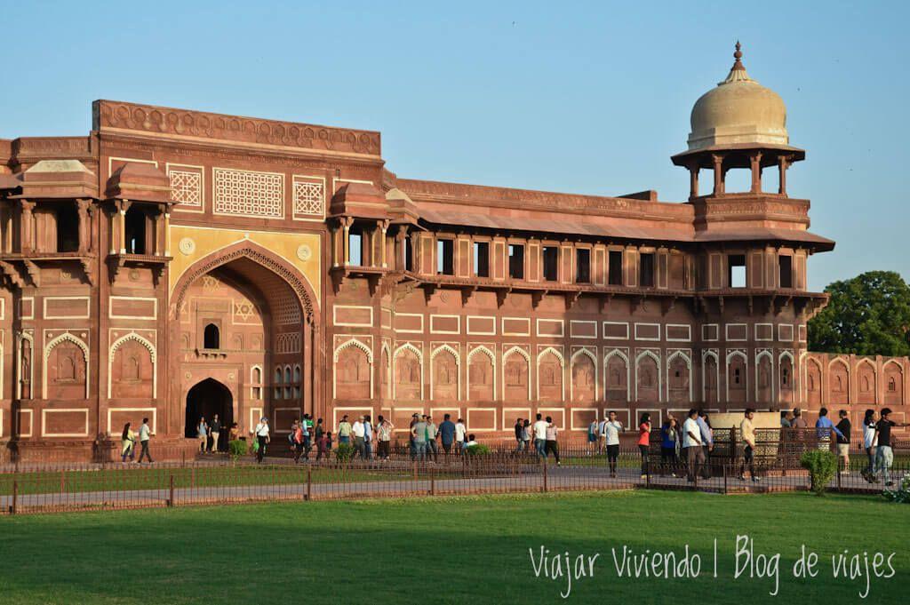 viajar al Triangulo de Oro - Fuerte de Agra