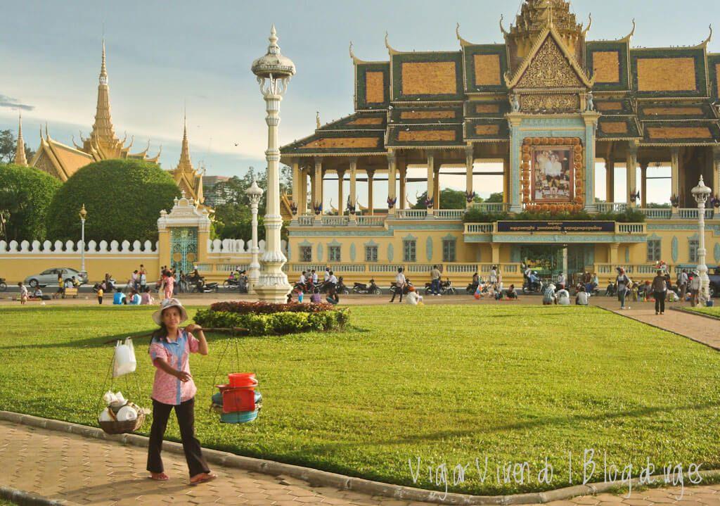itinerario viaje a Camboya - Phnom Penh