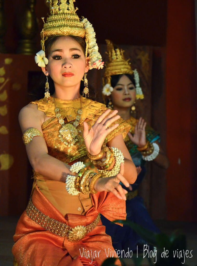 itinerario viajar a Camboya - apsara