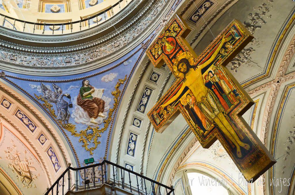 interior iglesia San Francisco