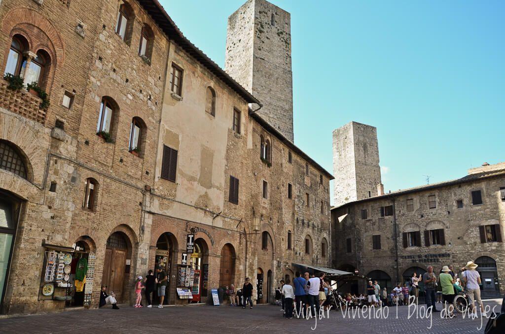 San Gimignano - Toscana en auto