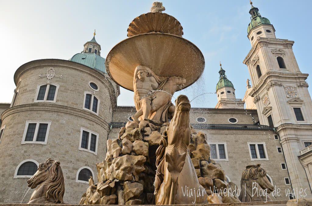 LaResidenzplatz y laResidenzbrunnen