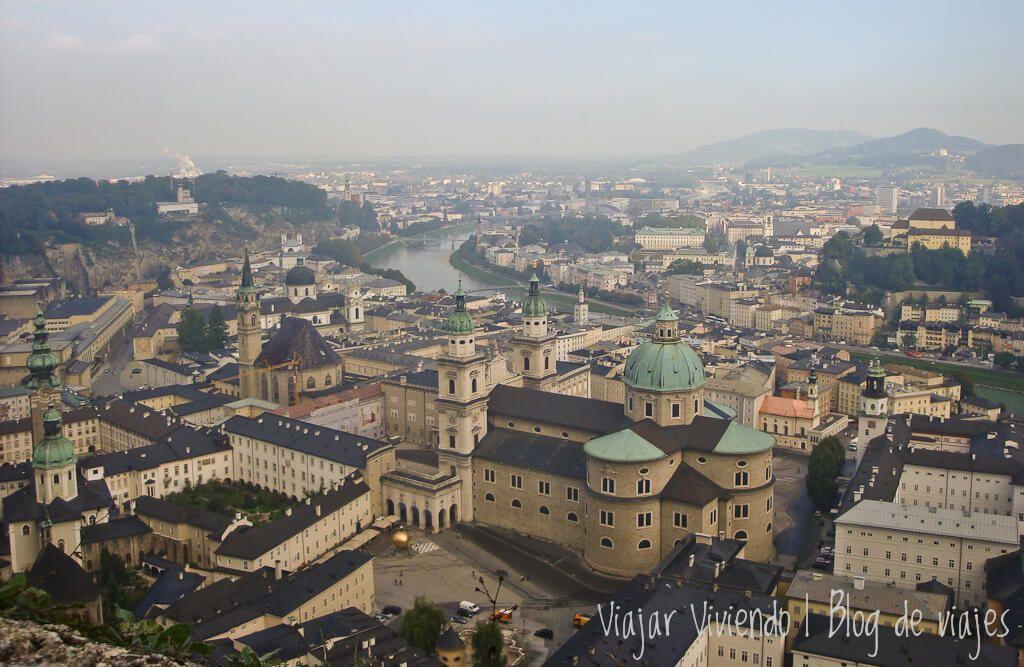 vista panoramica de Salzburgo